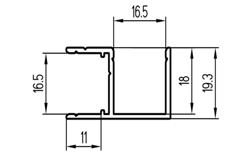Угловой профиль (RAL)